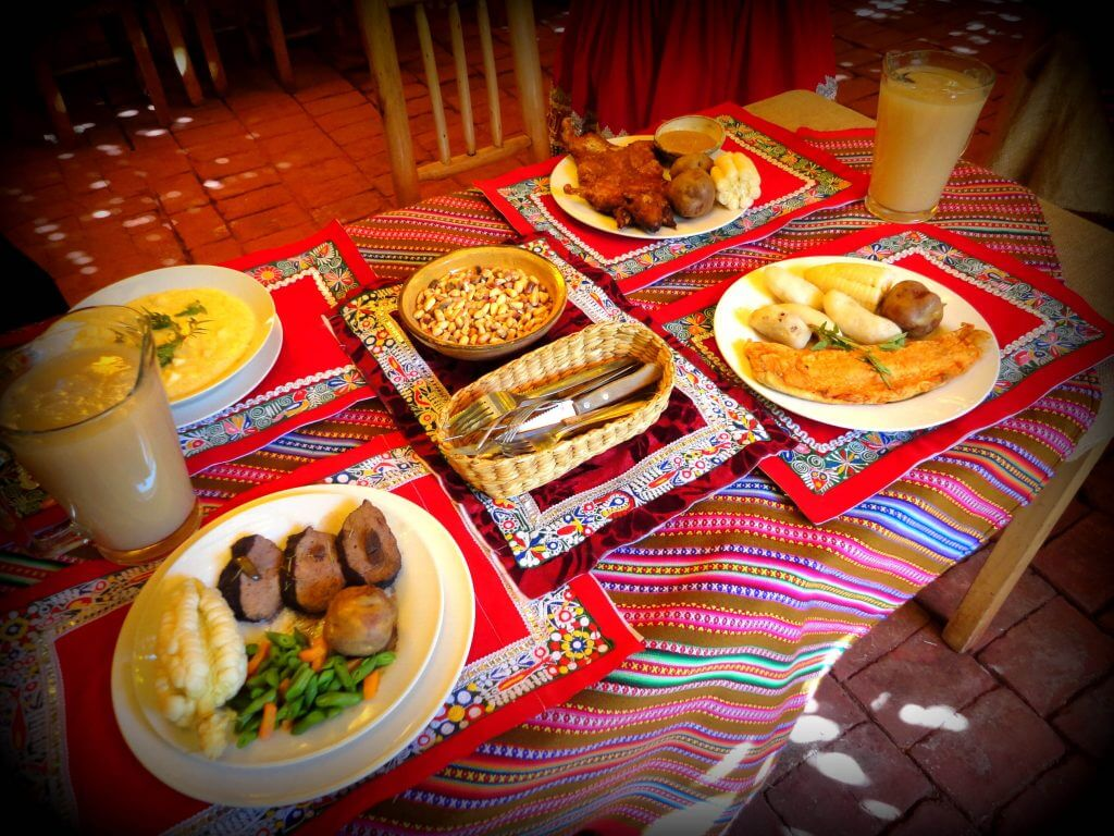 Tipical dishes of Cusco